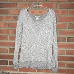 Hard tail grey sweater crew neck pullover small